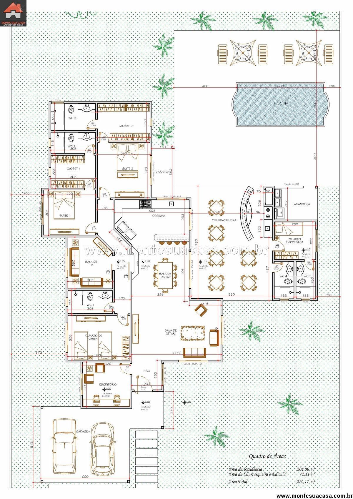 Casa 1 Quartos - 276.17m²