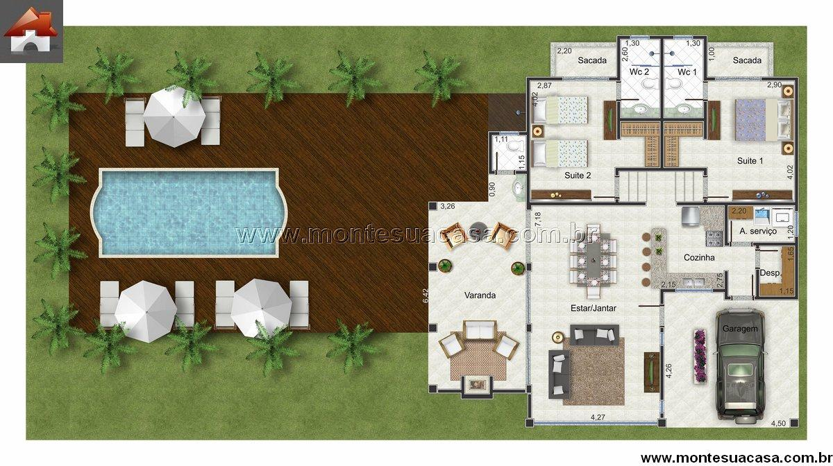 Casa 0 Quartos - 111.1m²
