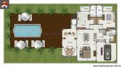 Casa - 2 Quartos - 111.1m²