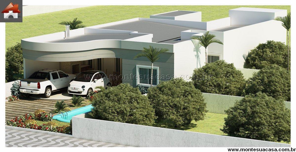 Casa 3 Quartos  –  165.81m²