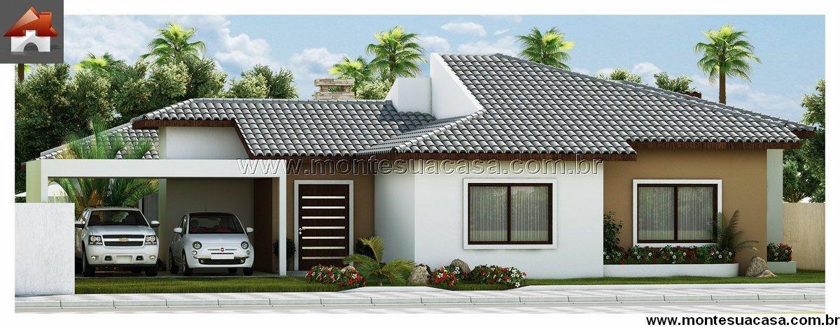 Casa 3 Quartos  –  138.06m²