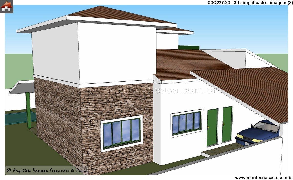 Casa - 3 Quartos - 227.23m²