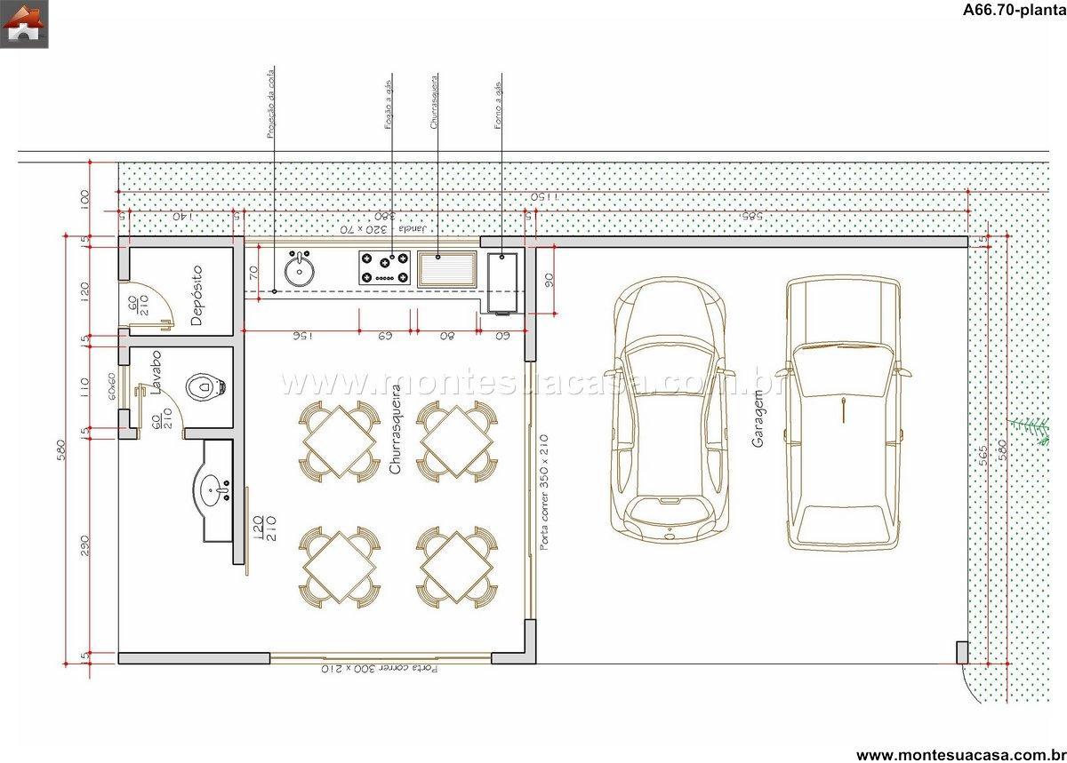 Casa 0 Quartos - 66.7m²