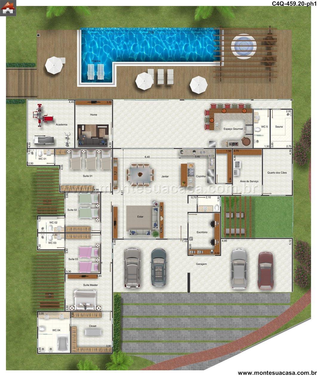 Casa 0 Quartos - 459.2m²
