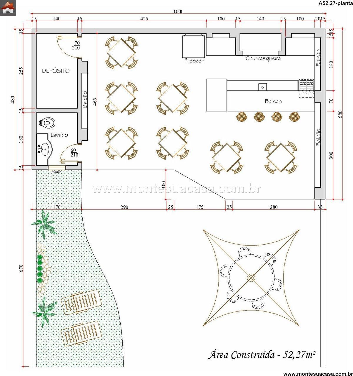 Casa 0 Quartos - 52.27m²