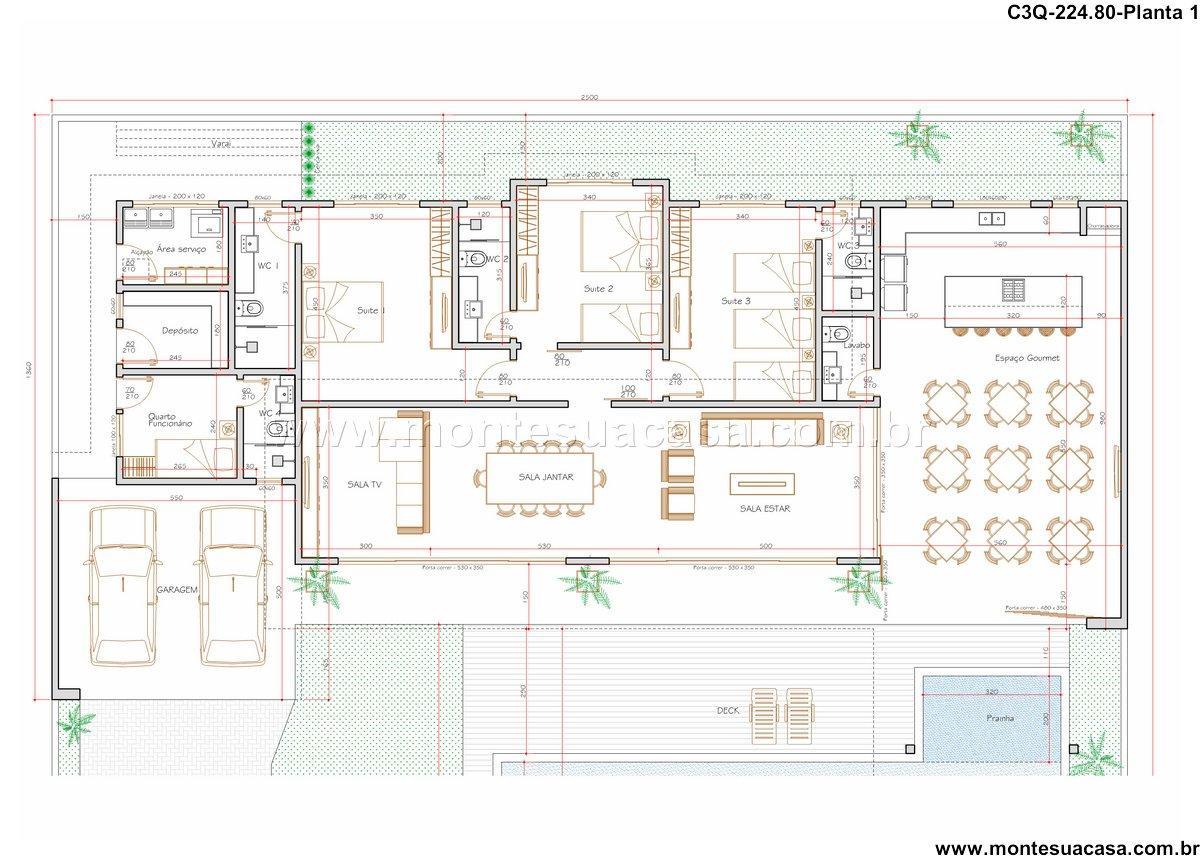 Casa 0 Quartos - 224.8m²