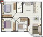 Casa - 3 Quartos - 60.67m²