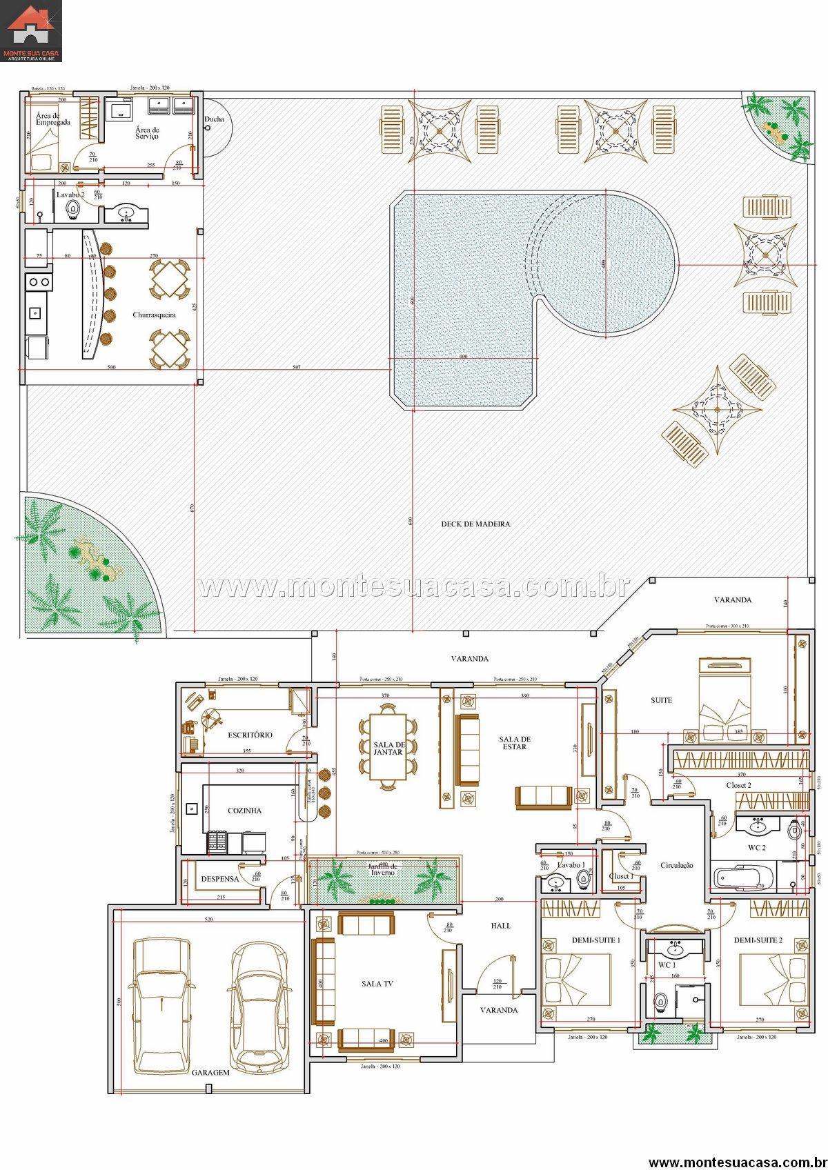 Casa 2 Quartos - 191.22m²