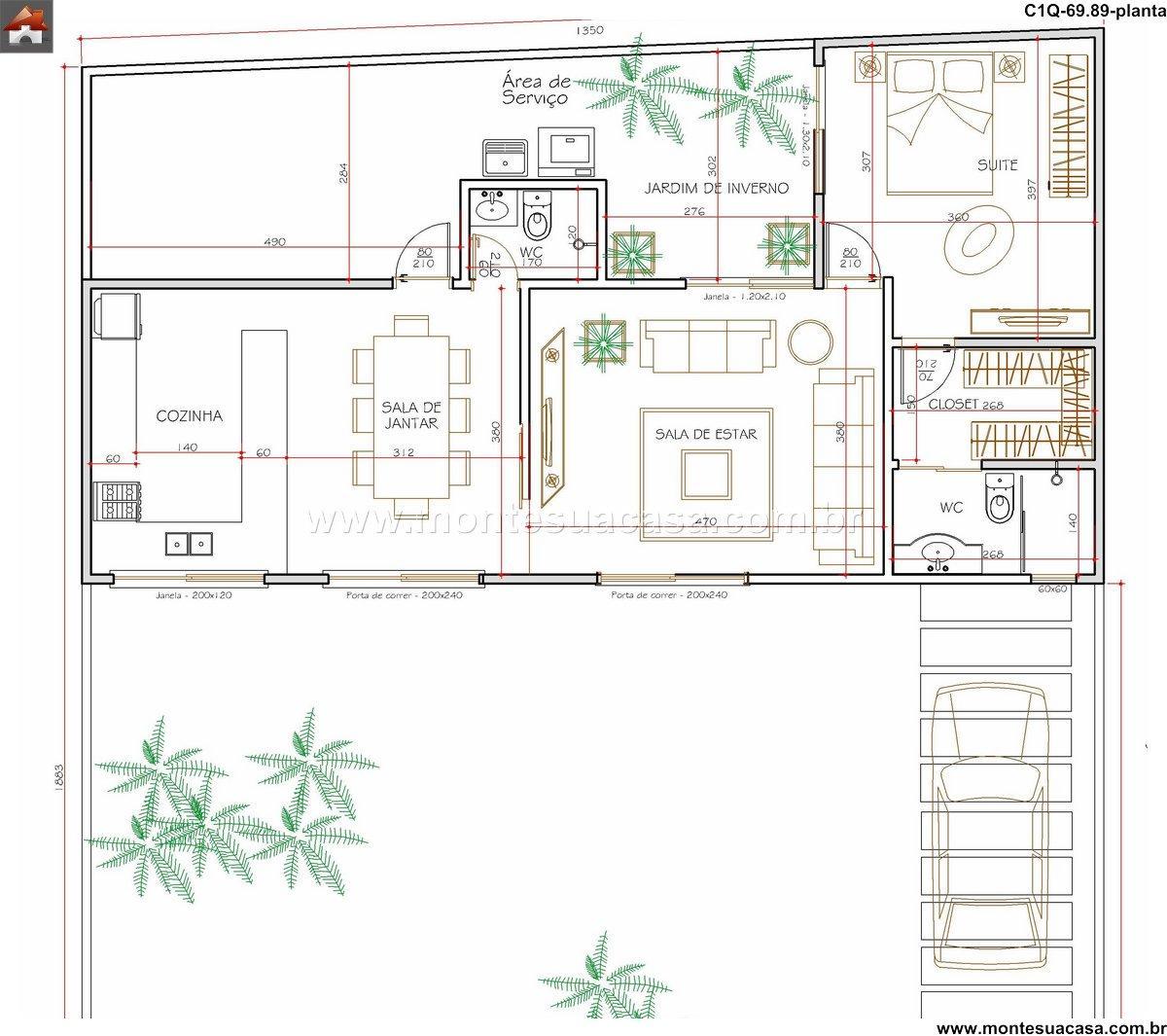 Casa 0 Quartos - 69.89m²